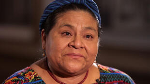 Rigoberta Menchú.