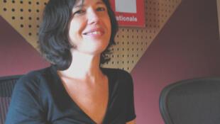 Claudia Haber en RFI.