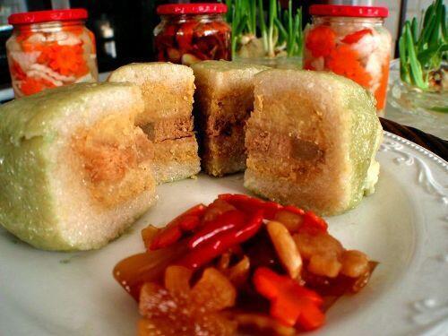 Bánh chưng, món ăn truyền thống không thể thiếu trong những ngày Tết Việt Nam