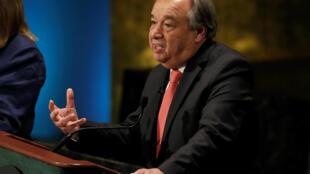 Sabon Sakatare Janar na Majalisar Dinkin Duniya Antonio Guterres