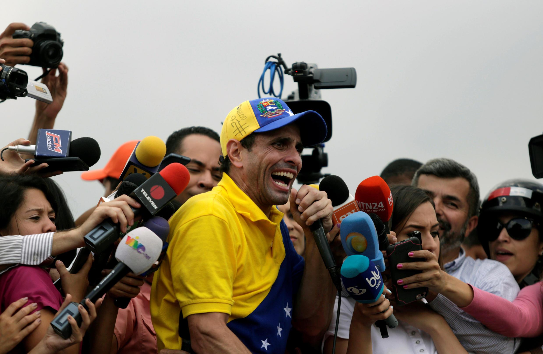 Henrique Capriles, candidato da oposição na Venezuela