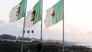 La frontière marocaine, ici au niveau de Tlemcen en Algérie.