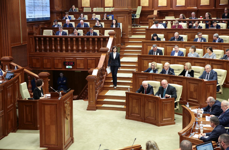 Вотум недоверия правительству Майи Санду был вынесен голосами 63 депутатов из 101