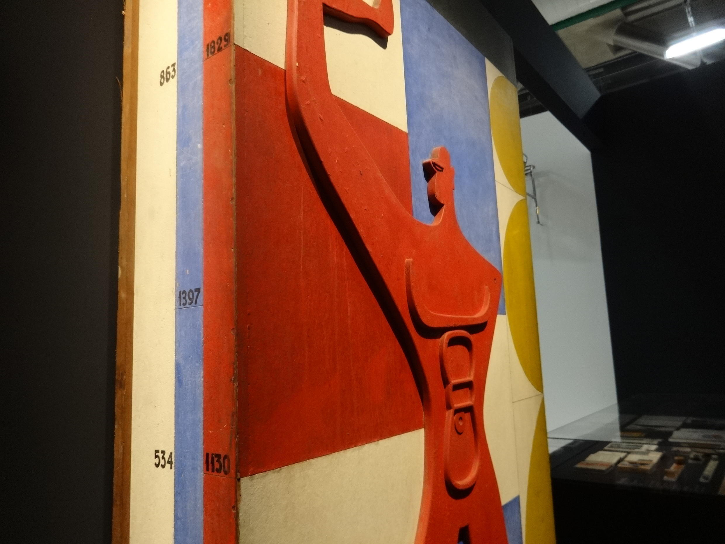Le Corbusier's 'Modulor', a measurement system based on the proportions of the average man.