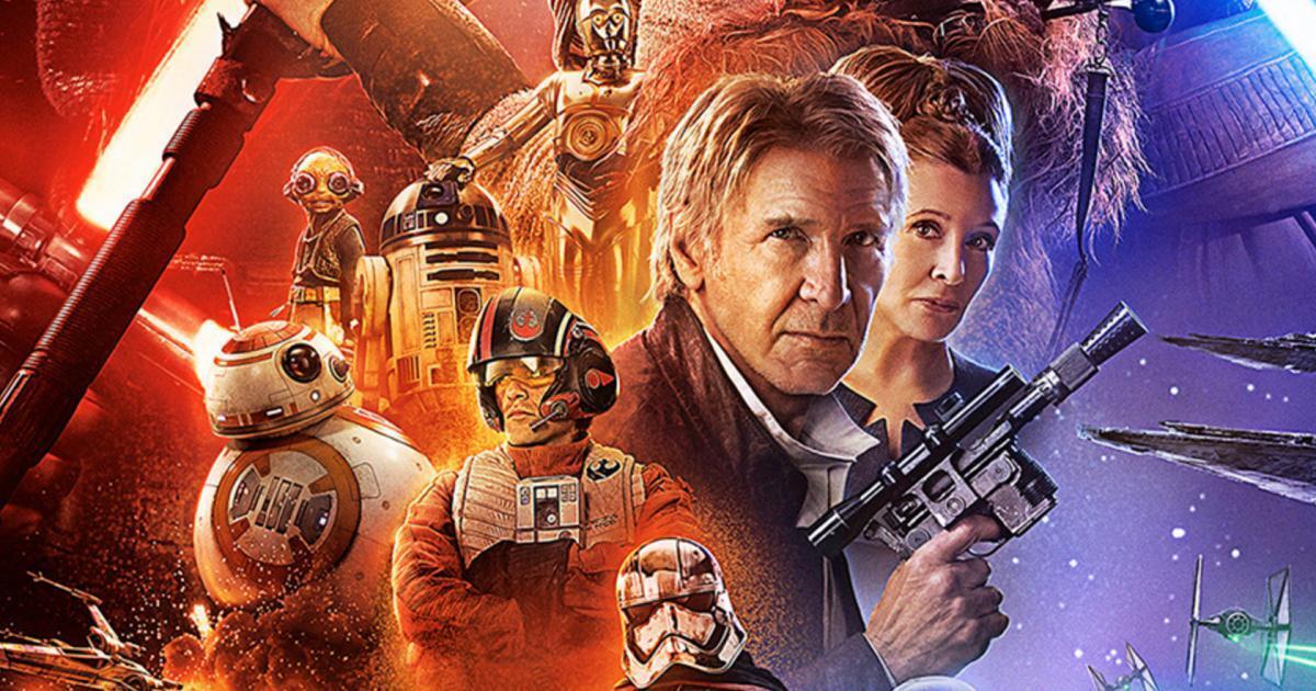 Cartaz do Episódio VII de Star Wars: O Despertar da Força