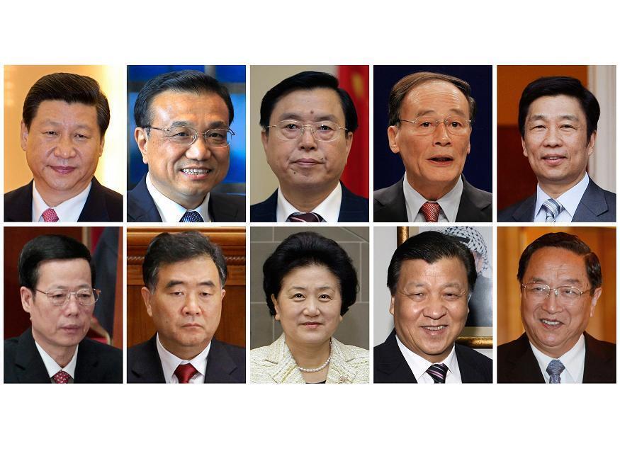 10 кандидатов на 7 мест в политбюро компартии Китая