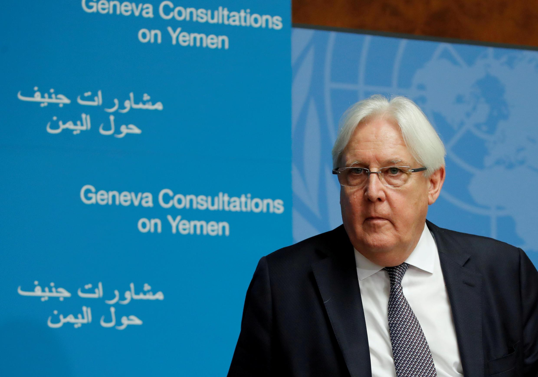 Martin Griffiths, émissaire des Nations unies, à Genève pour des discussions de paix prévues sur la crise au Yémen, le 5 septembre 2018.