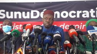 Ousmane Sonko conf presse senegal