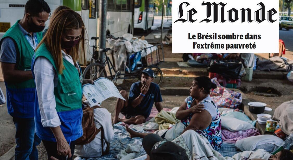 Le Monde Pauvreté Brésil