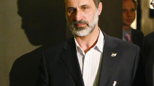 Ahmed Moaz al-Khatib, president of the Syrian National Coalition