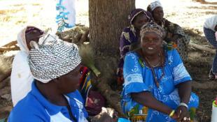 Des femmes du groupement wend-panga du village de Sibalo.