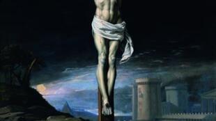 «Le Christ mort sur la Croix», vers 1655.