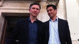 Peter et David, partenaires de longue date, vont pouvoir se marier.