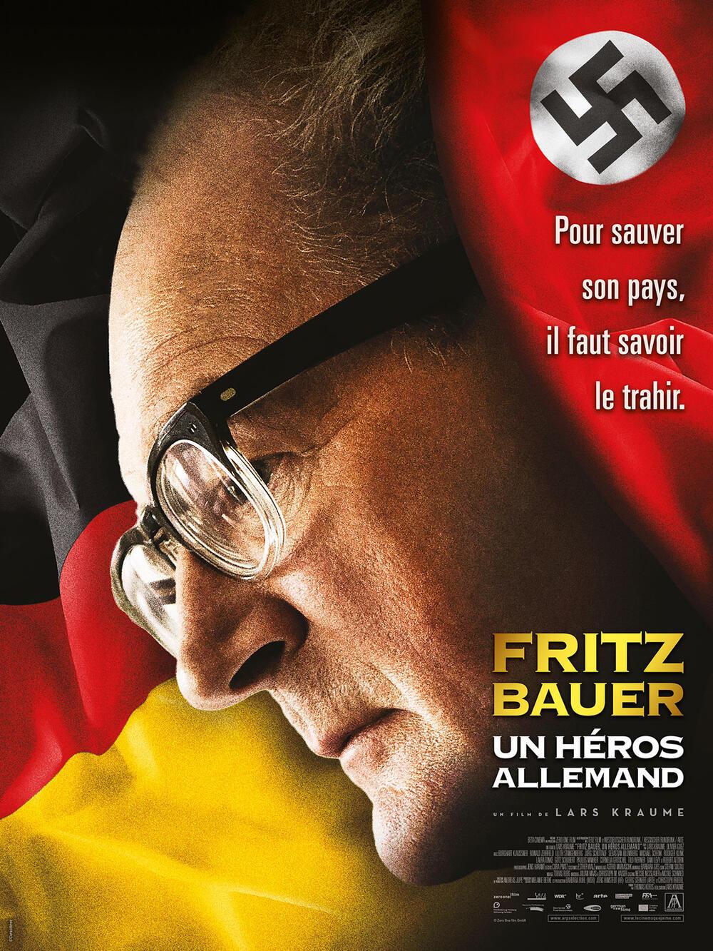 Affiche du film « Fritz Bauer, un héros allemand » de Lars Kraume.