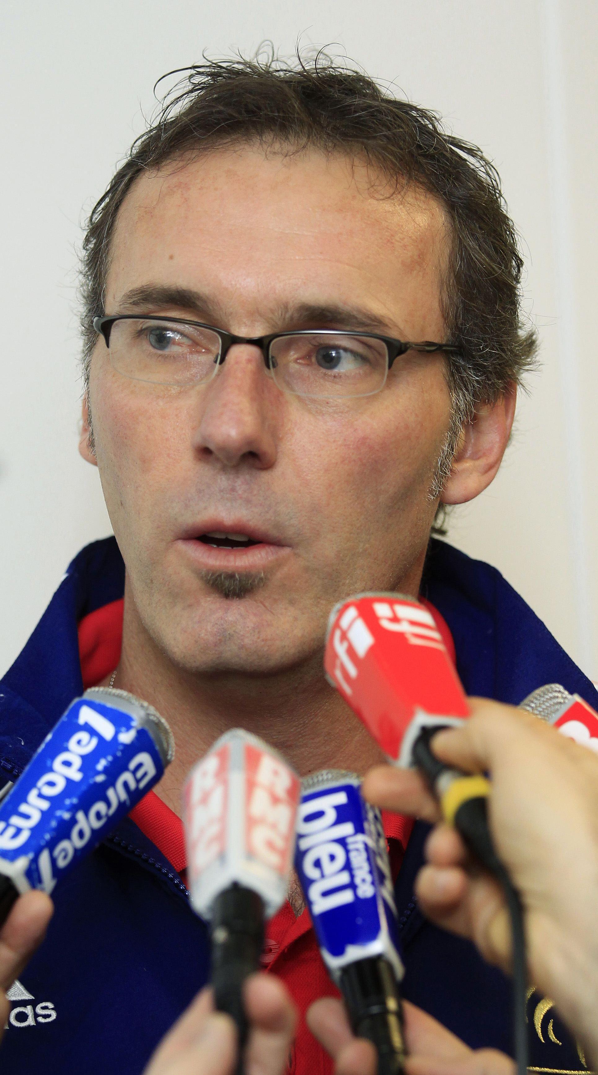 Laurent Blanc, técnico da seleção francesa.