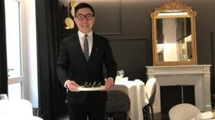巴黎的餐馆御宝轩负责人方发