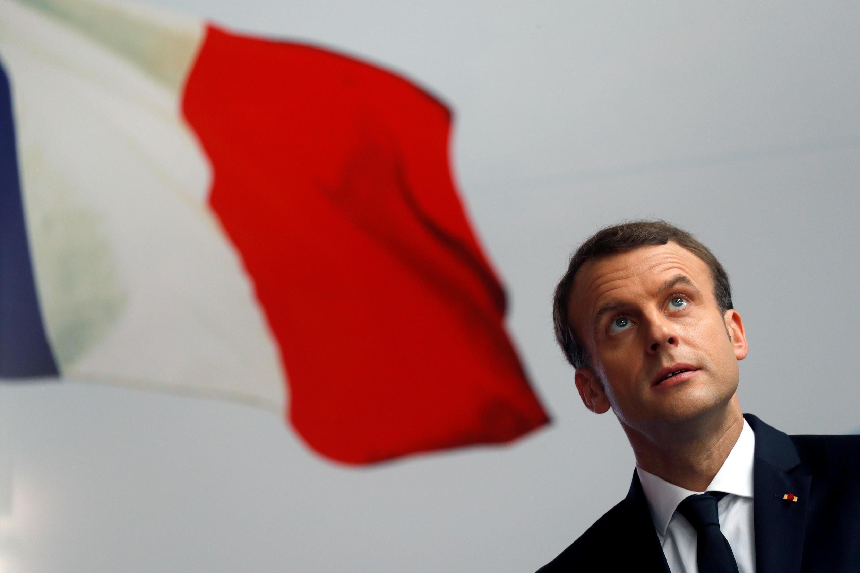 Emmanuel Macron in November 30, 2017.
