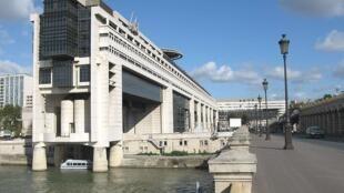 La sede del ministerio francés de Economía y Finanzas, en el barrio de Bercy, distrito XII de París.