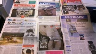Diários franceses 21/08/2014