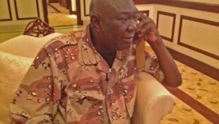 中非塞雷卡叛軍聯盟領袖裘托狄亞政變成功後自命為總統