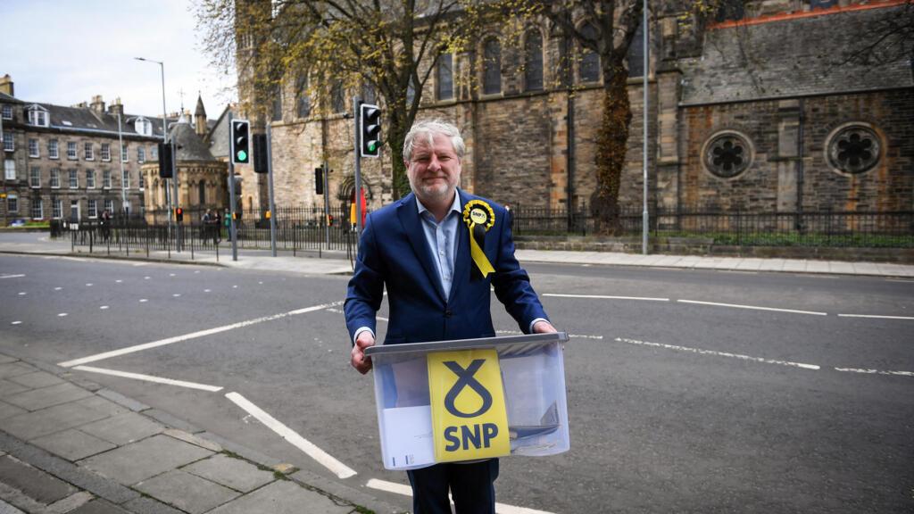 Écosse: à Édimbourg, bataille entre le SNP et les conservateurs pour une élection-clé