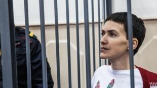 Надежда Савченко в Басманном суде 10/02/2015