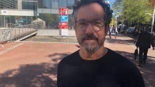 O escritor Bernardo Carvalho.