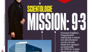 Capa do jornal francês Liberation desta sexta-feira, 19 de abril de 2019
