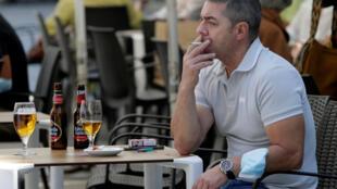 Smoking Galicia Spain