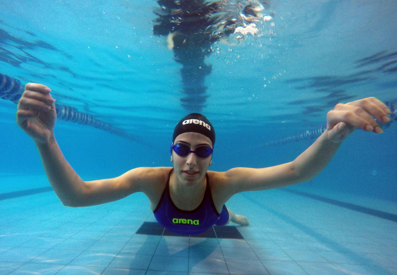 La nageuse palestinienne Mary Al-Atrash, 22 ans, sera l'une des six athlètes représentant la Palestine aux Jeux Olympiques de Rio 2016.