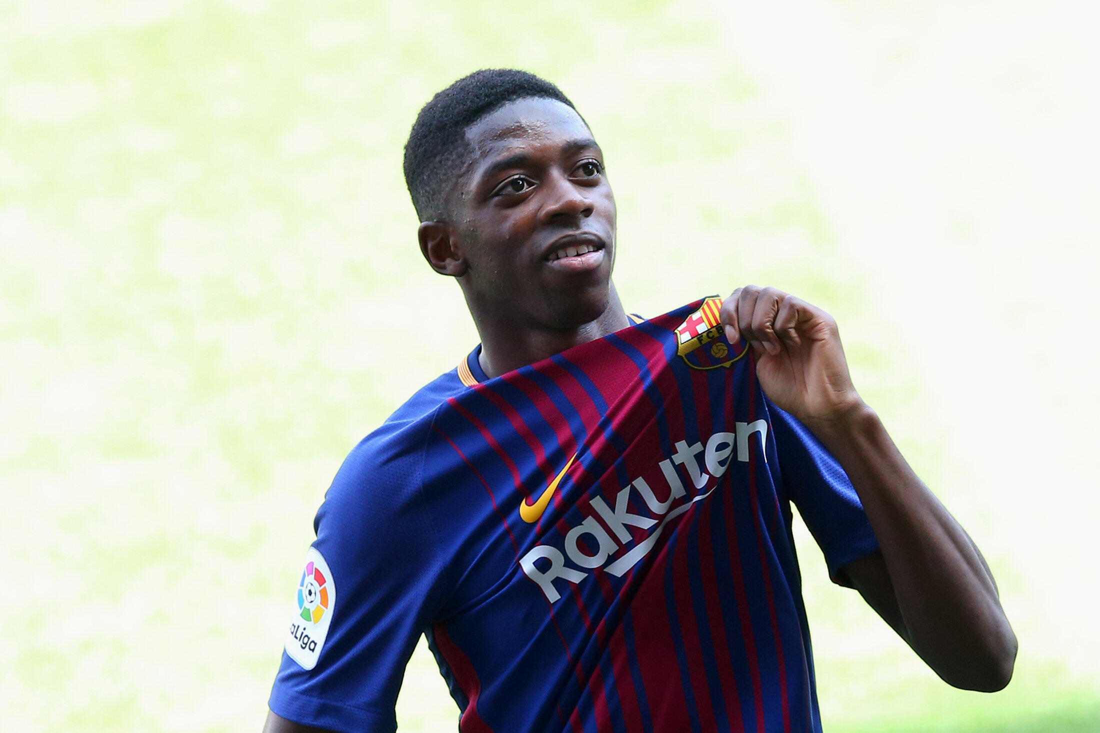 Ousmane Dembélé na Barcelona