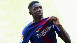 Ousmane Dembélé, novo contratado do FC Barcelona