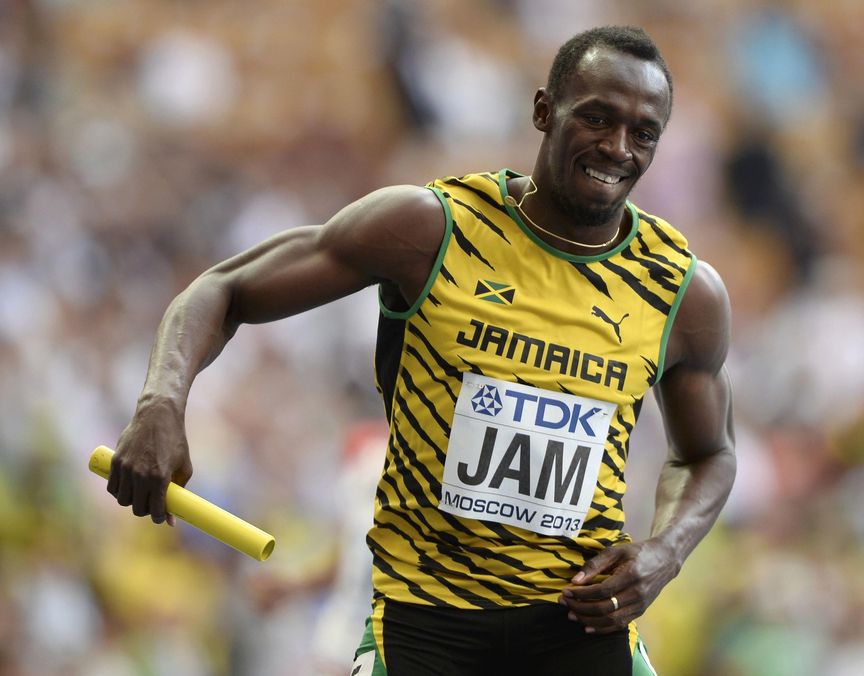 Mwanaraiadha wa Jamaica  Usain Bolt,
