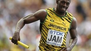Usain Bolt na Jamaica