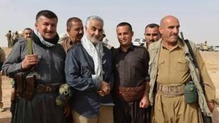 این اولین بار است که حزبالله لبنان حضور سردار قاسم سلیمانی را در عراق تأئید می کند.