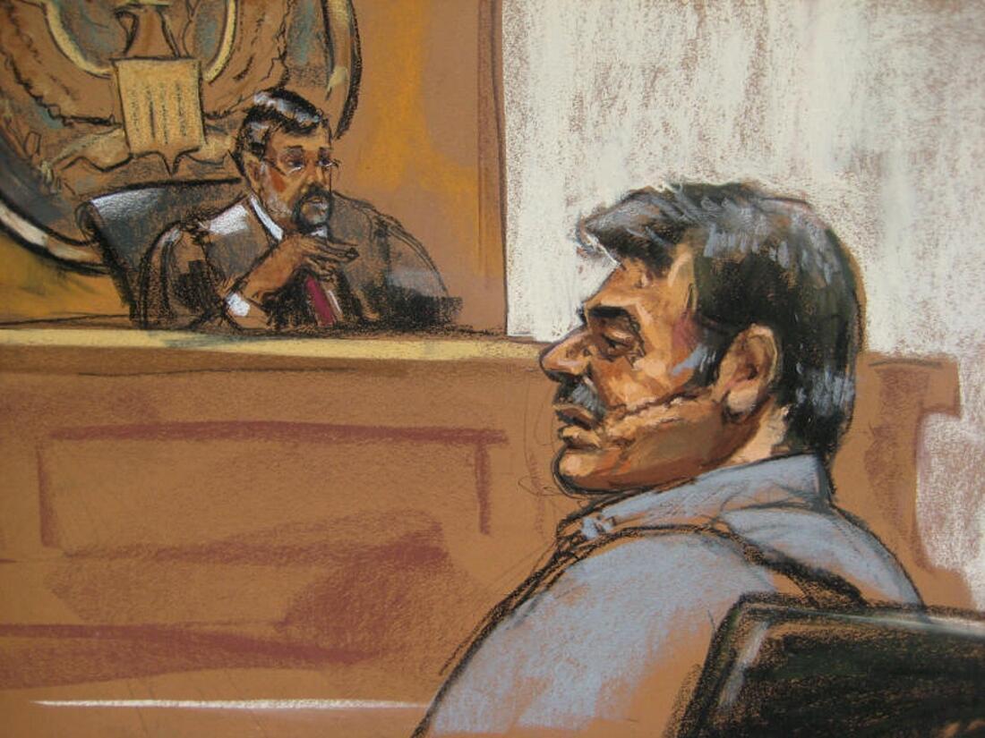 Manssor Arbabsiar, một trong những nghi can ra toà hôm 18/10 về tội mưu sát đại sứ Ả Rập Xê Út  REUTERS/Jane Rosenberg