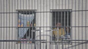 Détenus à la Maison d'arrêt de Lyon-Corbas, le 4 février 2010.