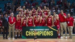 La Tunisie remporte l'Afrobasket 2017 à domicile.