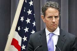 Le secrétaire américain au Trésor Timothy Geithner