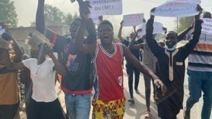 Manifestation NDjamena