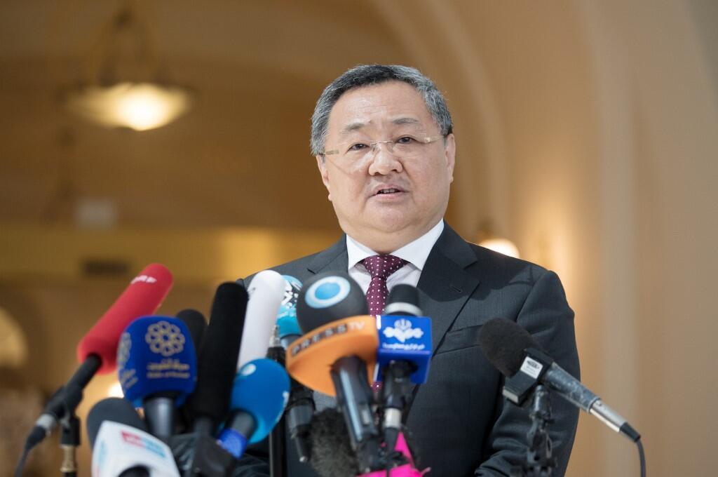 Глава департамента по контролю над вооружениями министерства иностранных дел Китая Фу Цун