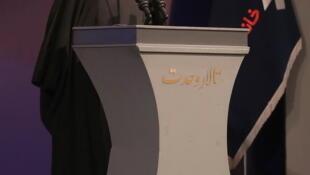 حسن روحانی، رییس جمهوری اسلامی ایران در مراسم سی و چهارمین دوره جایزه کتاب سال