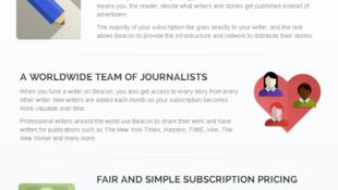 BeaconReader's website