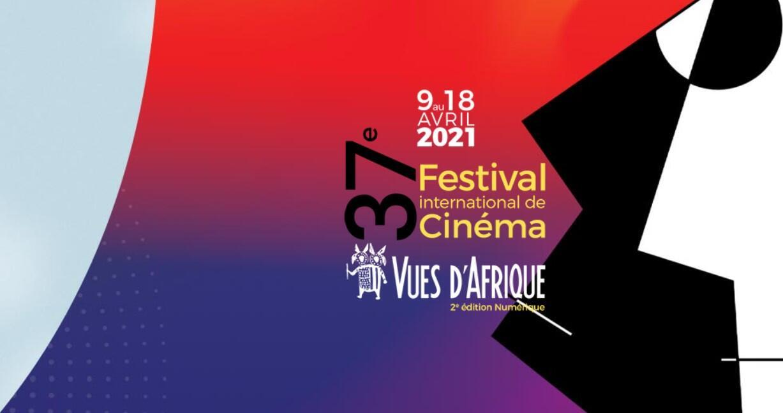 L'affiche du Festival Vues d'Afrique, rendez-vous incontournable du cinéma africain en Amérique du Nord, du 9 au 18 avril 2021, en ligne.  © Vues d'Afrique