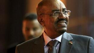 图为苏丹总统奥马尔·哈桑·艾哈迈德·巴希尔于2015年9月