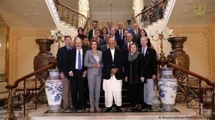 سفر هیات کنگره آمریکا به ریاست نانسی پلوسی به افغانستان