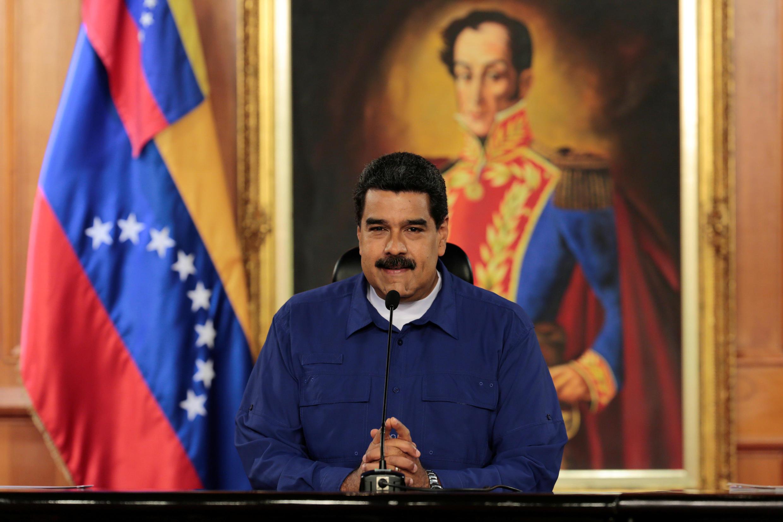 Tổng thống Venezuela Nicolas Maduro, ngày 09/02/2017, tại Caracas.