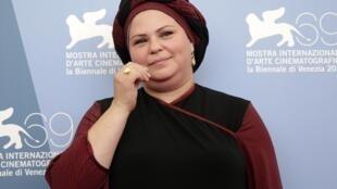 Rama Burshtein, juive ultra-orthodoxe, présente «Fill the void», le 2  septembre 2012.