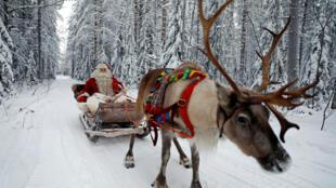 L'esprit de Noël fait fi des frontières. (Photo d'illustration)
