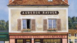 Auverge Ravoux, el albergue en donde vivió y se suicidó el artista Vincent Van Gogh.